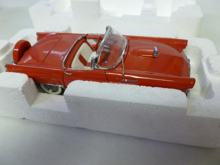 Danbury Mint 1956 Ford Thunderbird Red (515)