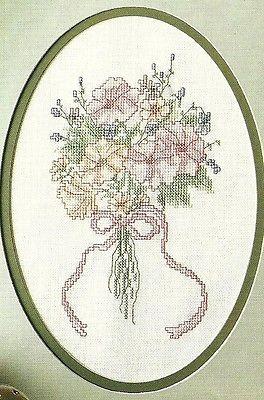 Love Buds  cross stitch pattern from magazine
