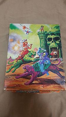 Masters of the Universe H-Man Skeletor Castle Greyskull vintage jigsaw puzzle