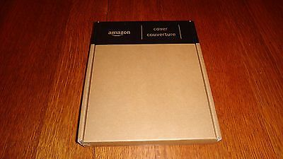 Genuine Official Amazon Red Kindle Keyboard Leather Cover *NO LIGHT*