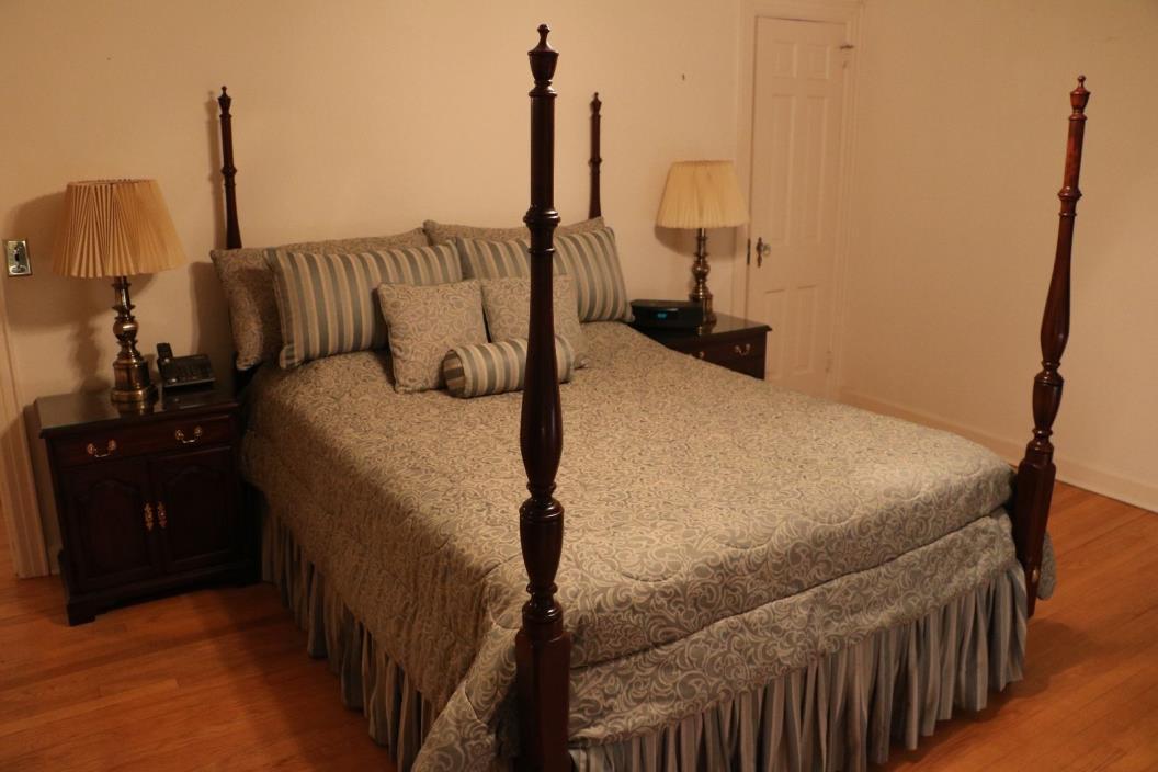 Mahogany Henkel Harris Bedroom Furniture