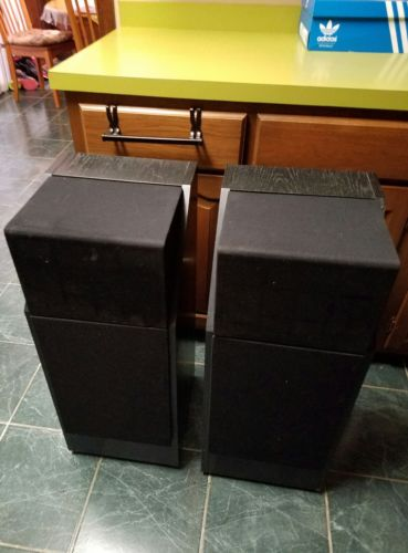 Vintage Pair of Bose 601 Series III Stereo Speakers -  1 speaker need work