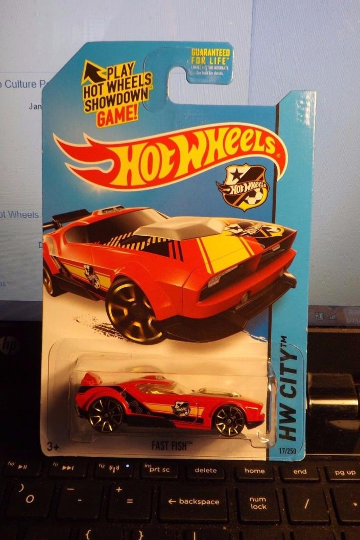 HOT WHEELS 2014 HW CITY