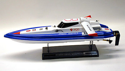 Speed Boat Mini Tracer Remote Control Boat White Pool Toy RTR 17