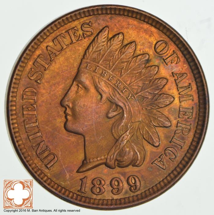 1899 Indian Head Cent *0865