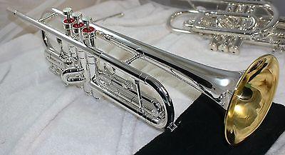 Old Vintage Silver Conn Connstellation Trumpet 36B 1972