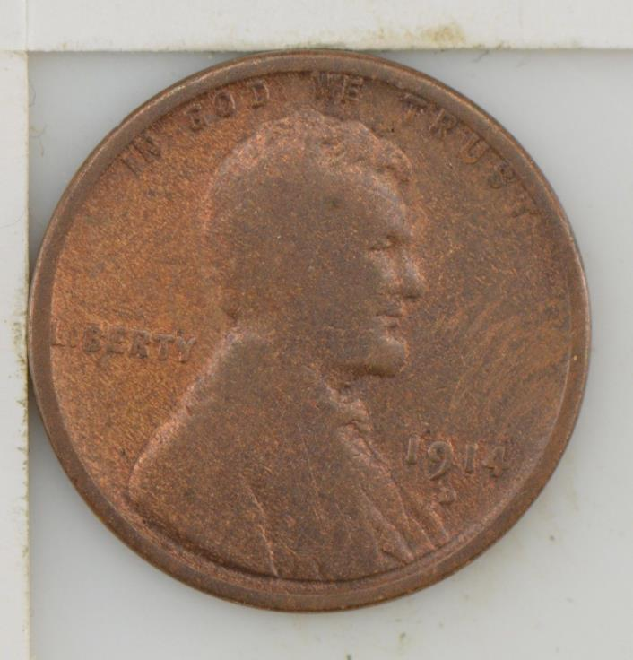 1914-D Lincoln Wheat Ears Cent *Z40