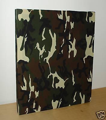 Green camo camouflage decor fabric wall hanging set boys bedding contemp decor