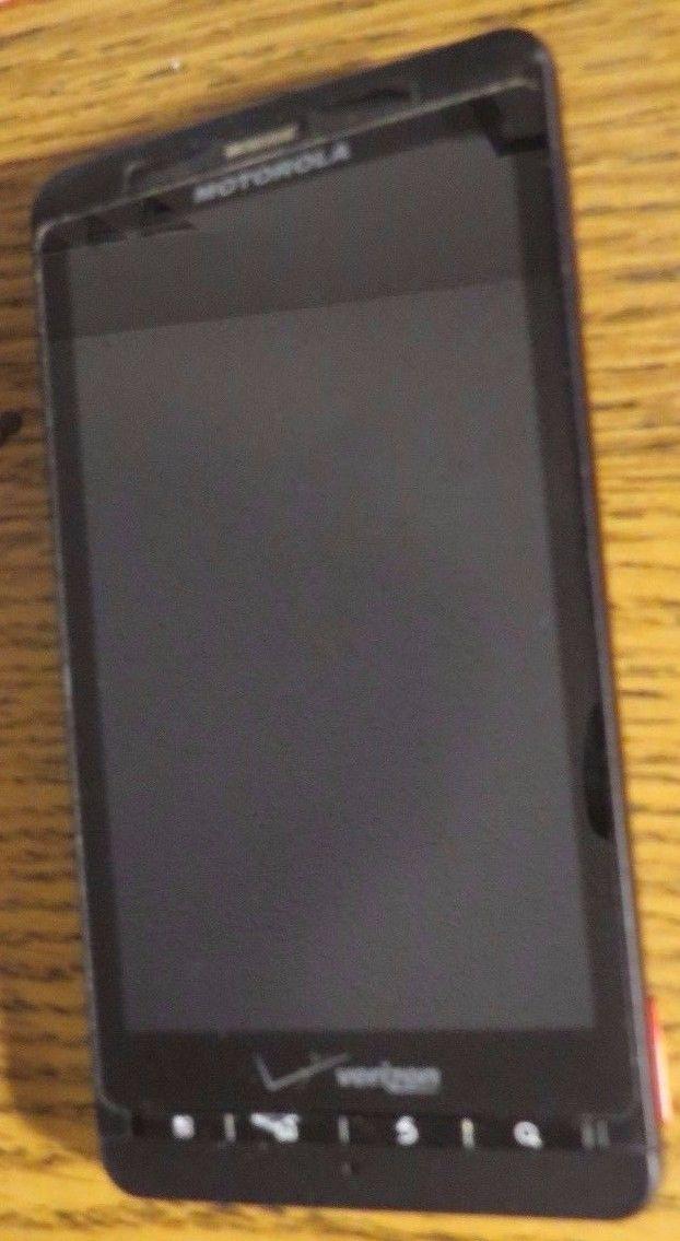 Motorola Droid X  8GB Black (VERIZON ONLY) Smartphone Very Good Used Fast Ship