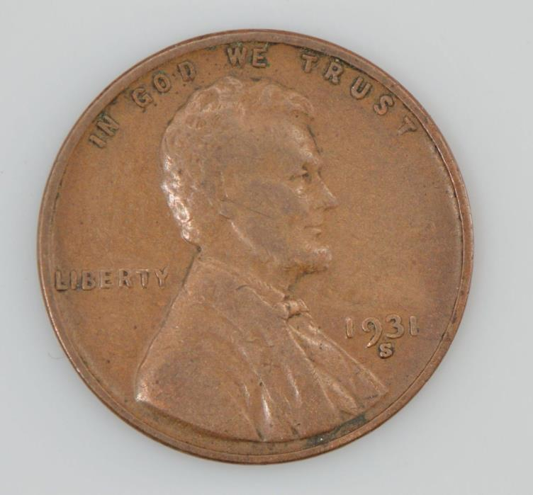 1931-S Lincoln Wheat Ears Cent *Z24