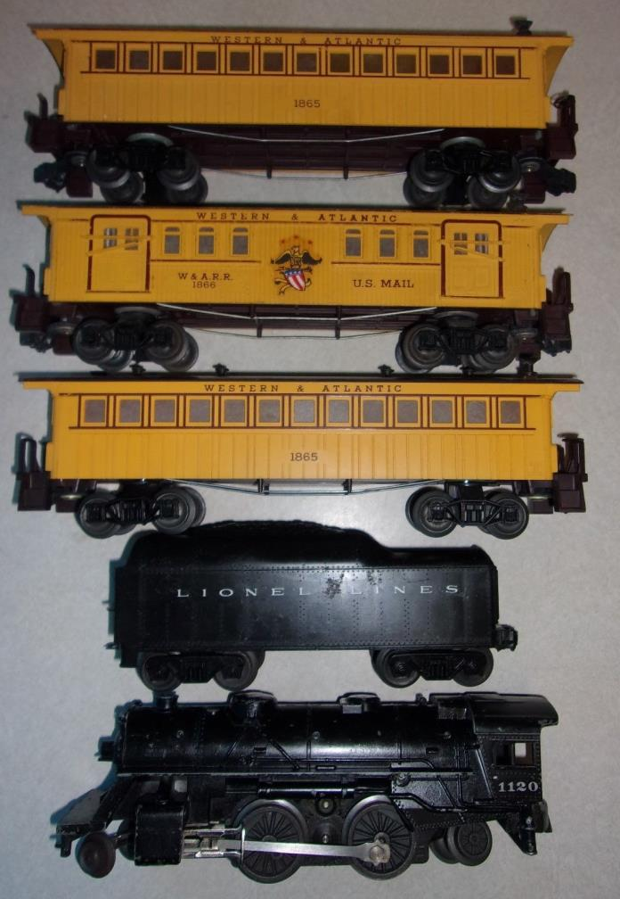 Lionel passenger car parts... train set