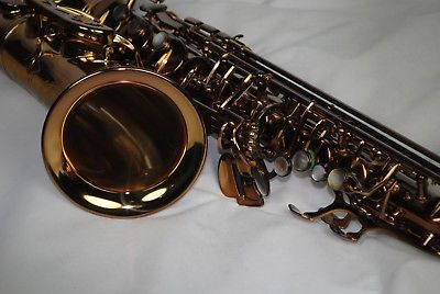 Firebird Pro Vintage Series Alto Sax Saxophone Honey Lacq Finish