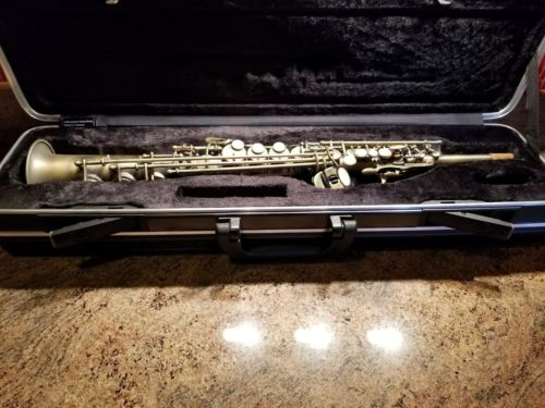 Firebird Pro Vintage Series Soprano Sax Saxophone Antique Finish New!