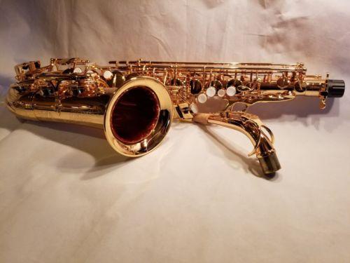 Firebird Classic Series Alto Sax Saxophone Gold Plated!!