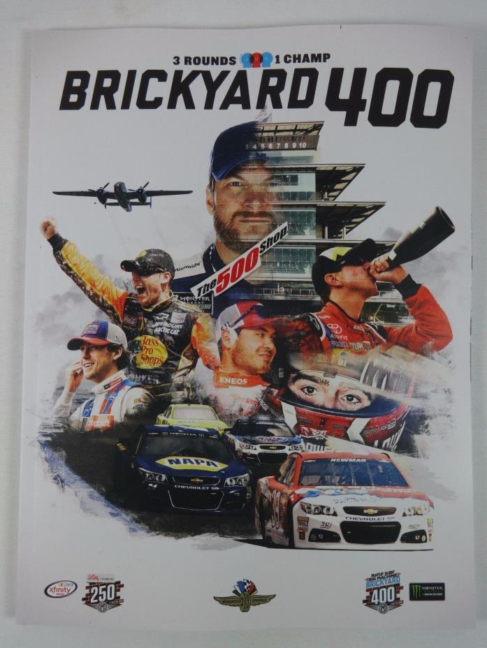 2017 Brickyard 400 Monster Energy NASCAR Collector Program w/ Starting Line-Up