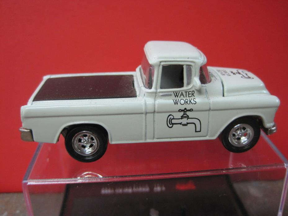 1955 CHEVY CAMEO PICK UP TRUCK  S or O scale Die cast