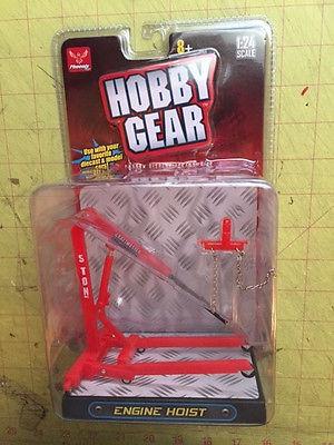 Hobby Gear 1/24-1/25 Scale Engine Hoist Display Accessory Phoenix # 18435