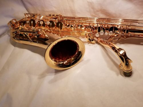 Firebird Classic Series Tenor Sax Saxophone Gold Plated!!