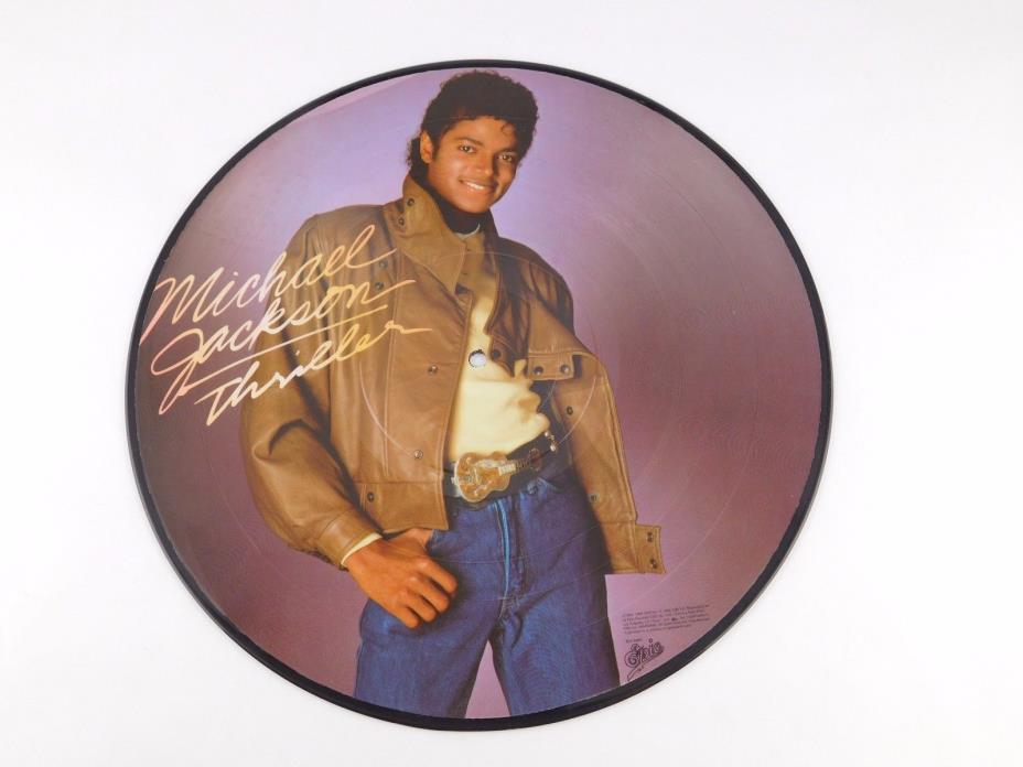 ORIGINAL Michael Jackson Picture Disc