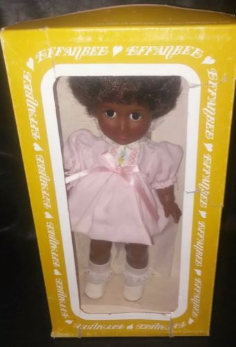 VINTAGE EFFANBEE ONE WORLD COLLECTION DOLL - SISSY - original box (K21sc)