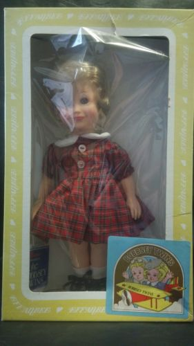 Vintage Bobbsey Twins Doll by Effanbee - Flossie - In Original Box (K36sc)
