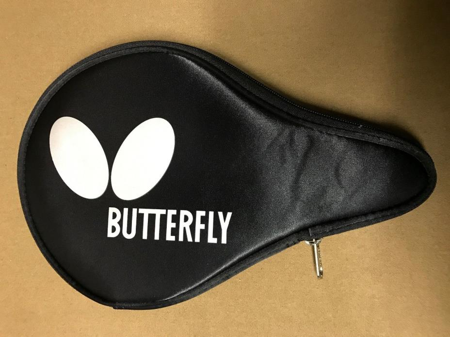 Butterfly Logo Silver B Case Table Tennis Ping Pong Racket Paddle Case