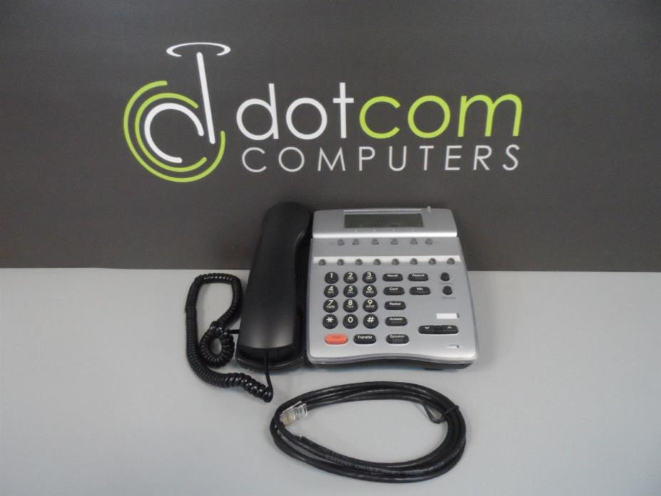 NEC Dterm IP ITR-8D-2 Black IP Telephone Phone 8-Button Speaker Refurbished