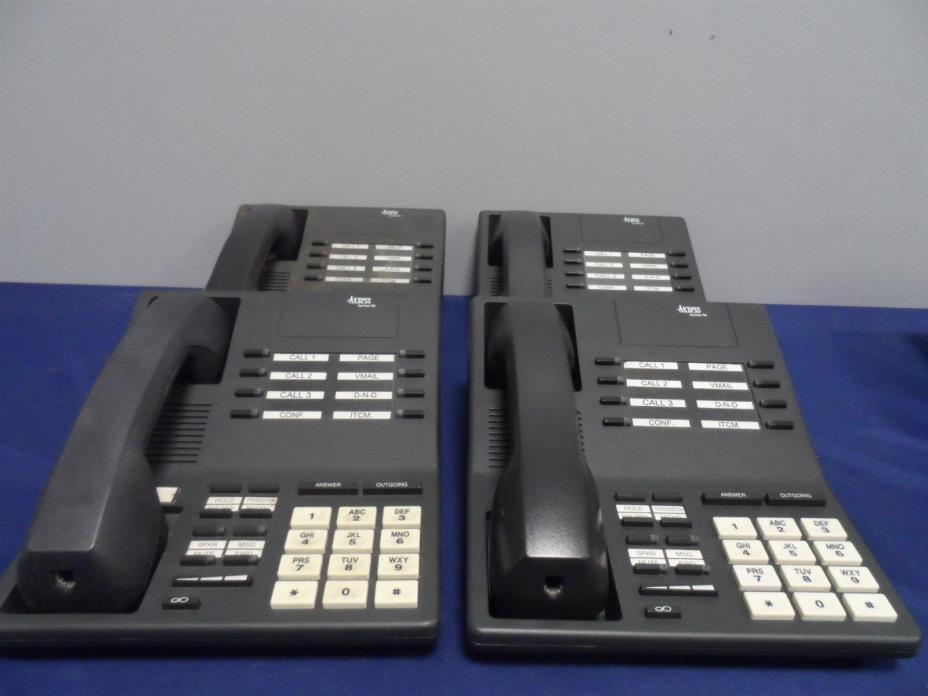 Inter-tel 520.4300 Basic Digital Terminal 2300 Series Phones Lot of 4x Warranty