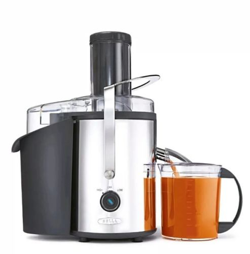 Bella 13694 High Power Juice Vegetable Extractor 1000 Watts Healthy Living