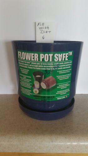 Flower Pot Hidden Safe