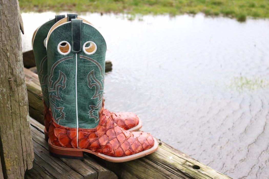 Anderson Bean Bass Boots Size 9.5D