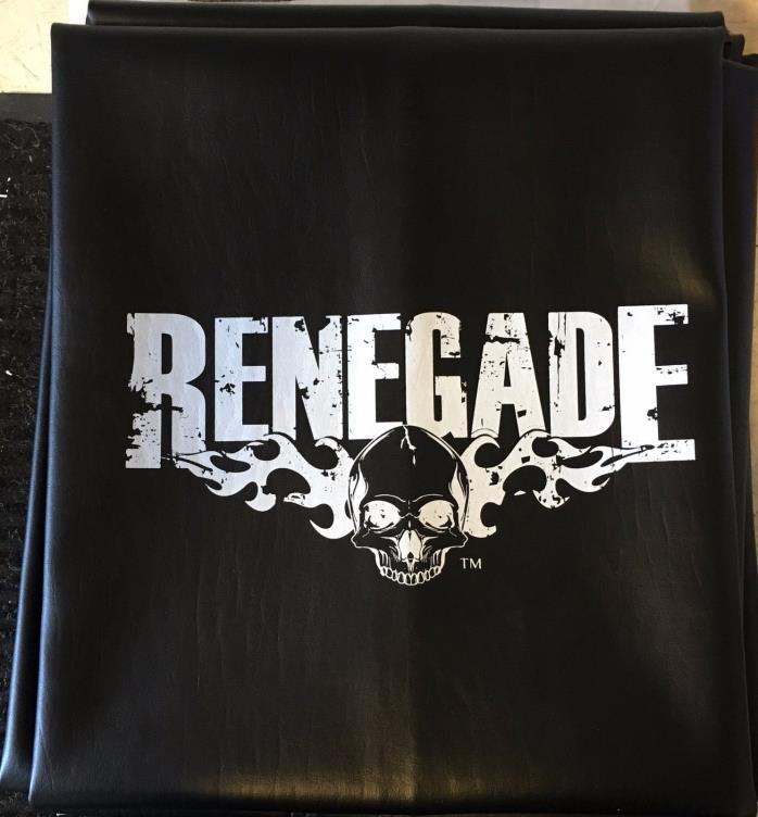 Shuffleboard Table Cover 12 Foot Black Renegade FREE Shipping - Rare Item!