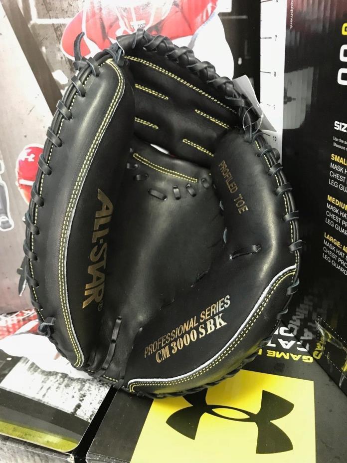 Allstar CM3000SBK Elite Series Baseball Catchers Mitt.