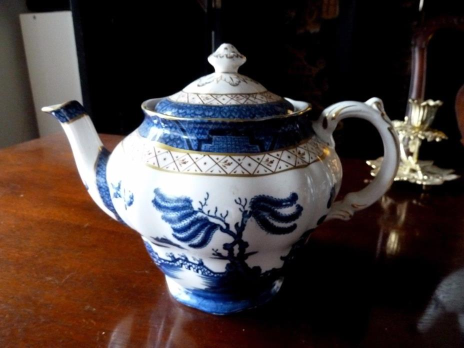 Scarce Booth's Real Old Willow Teapot  A 8025!!!