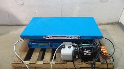 Bishamon X-30SNBI 660 Lb Load Cap 40x20 In 110VAC 1/2 HP Scissor Lift Table