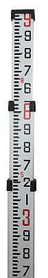 9' Northwest Aluminum Survey Level Rod Stick Tenths NAR09T