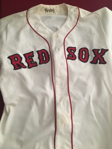Johnny Pesky Game Used Boston Red Sox Jersey And Pants