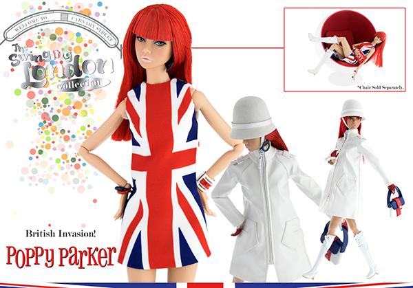 Fashion Royalty Poppy Parker British Invasion! 2017 W Club Exclusive PRE-ORDER