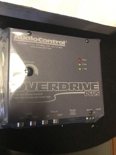 NEW AudioControl OVERDRIVE PLUS CONCERT-SERIES CAR AUDIO 24dB GAIN LINE DRIVER