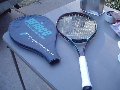 Prince Precision Destroyer 600PL Tennis Racquet 107 Head 4 3/8 w Pro Overwrap