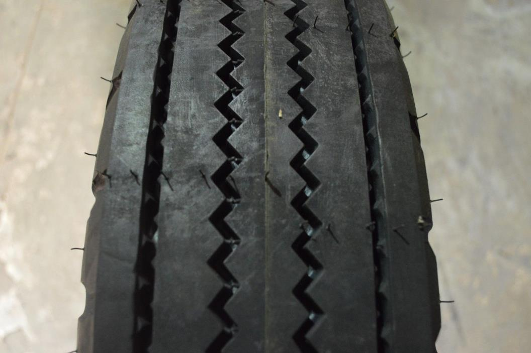 7.50/8.00-16 TIRE NEW OVER PRODUCTION 10PLY F-3