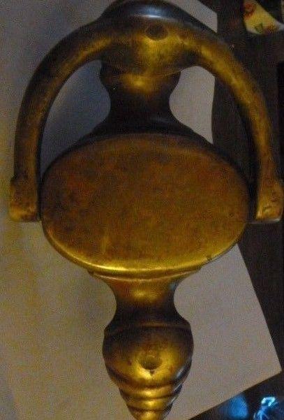 Vintage Solid Brass Door Knocker #4020