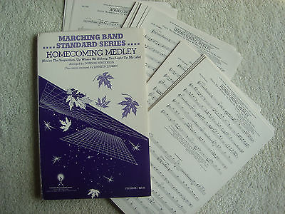 Marching Band - Homecoming Medley - Sheet Music