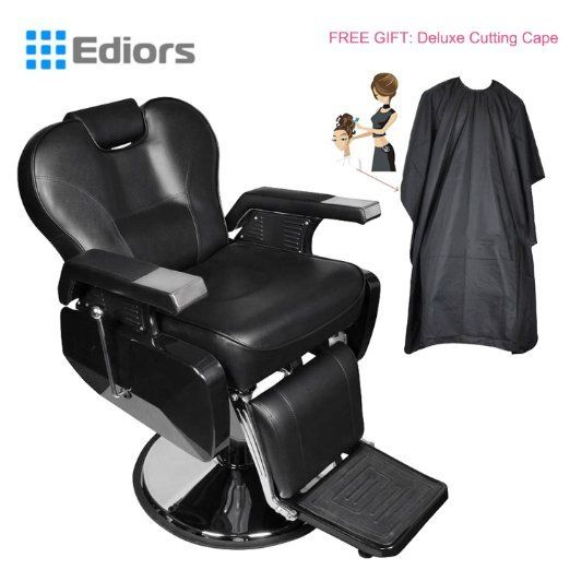 All Purpose Hydraulic Recline Barber Chair Hair Salon Beauty Spa Shampoo Styling