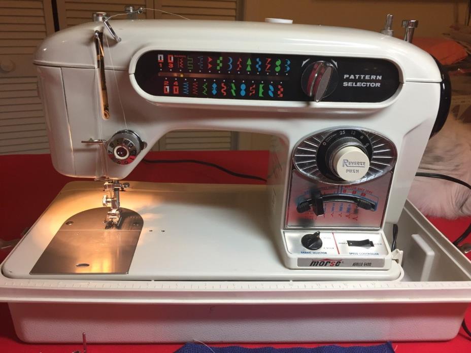 Morse Apollo 6400 Sewing Machine
