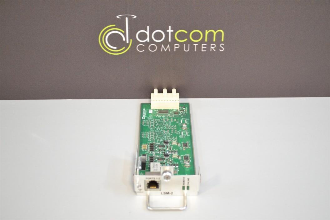 Inter-Tel Mitel 5000 LSM-2 580.2300 Loop Start Module Warranty 580-2300 Free Shp