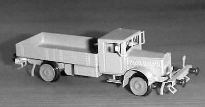 Z-scale Nickel Silver etched Kit,  Rail truck