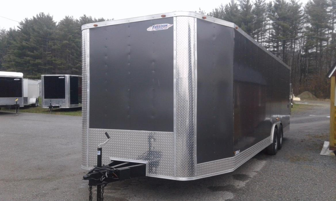 NEW 2018  8.5 x 24  Enclosed Cargo Car hauler Includes more Standard Features
