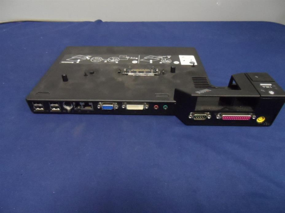 IBM Thinkpad Lenova Docking Station Type 2504 PN 42W4639 Quantity Key