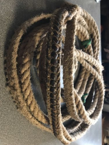 Vintage Bull Riding Rope, Western Decoration!